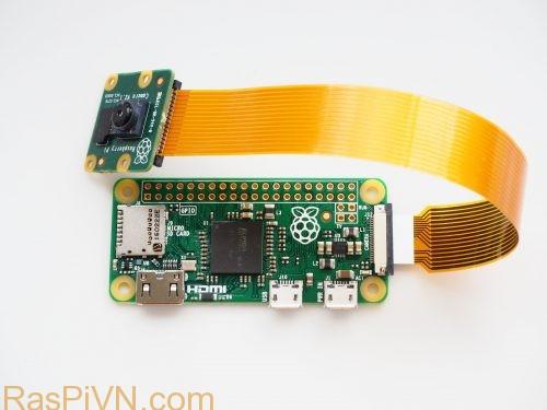Cáp kết nối camera trên Raspberry Pi Zero Revision