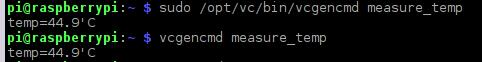 Kiểm tra nhiệt độ GPU trên Raspberry Pi
