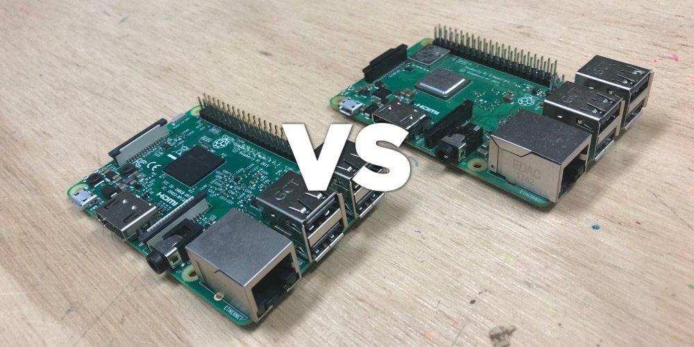 So sánh hiệu năng Raspberry Pi 3 Model B+ và Raspberry Pi 3